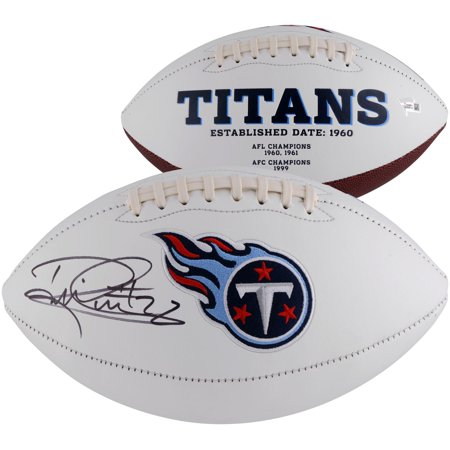 Derrick Henry Tennessee Titans Autographed White Panel Football - Fanatics Authentic Certified