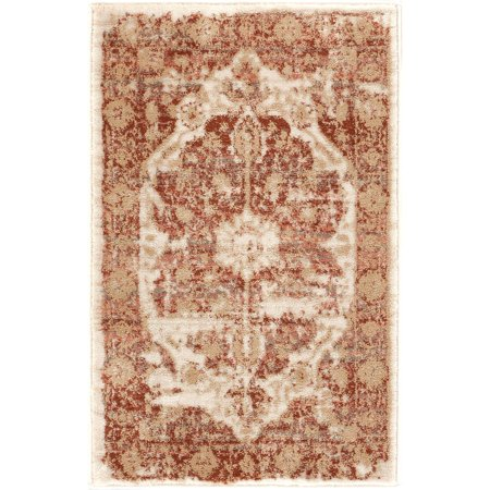 Well Woven Millie Tribal Copper Rust Medallion Area Rug 2x3 (20