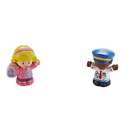 Fisher-Price Little People Travel Together Airplane - Replacement Figures (Fisher Price Little People)