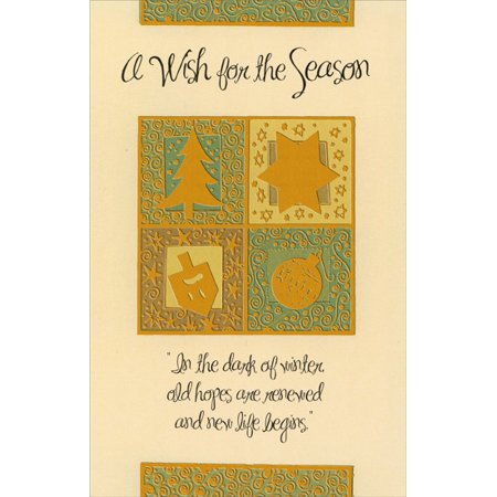 Freedom Greetings Wish for the Season Christmas Card