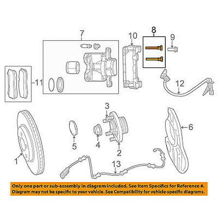 Awe Inspiring Dodge Chrysler Oem 2011 Challenger Brake Front Caliper Pin 5175682Aa Wiring Digital Resources Funapmognl
