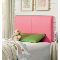 Furniture of America Mevea Twin Panel Headboard in Pink