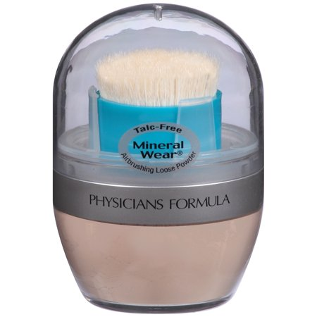 Physicians Formula Mineral Wear? Mineral Airbrushing Natural Beige Loose Powder SPF 30 .35 oz. Package