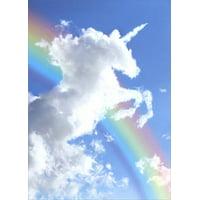 Avanti Press Unicorn Cloud Deluxe Matte Blank Note Card