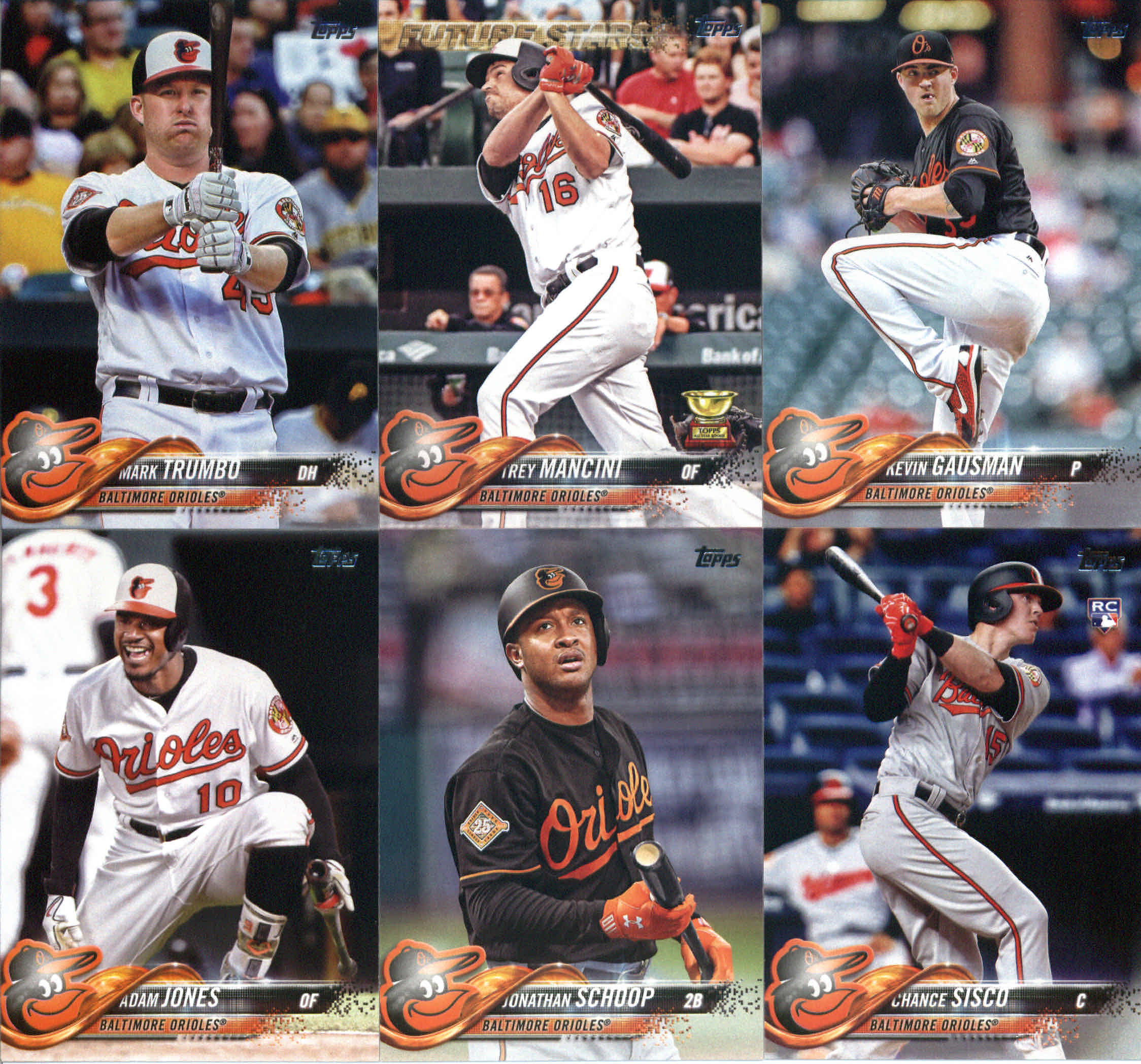 2018 Topps Gallery Austin Hays Orioles R/C FREE SHIPPING Baseball Trading Cards
