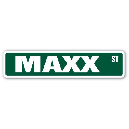 MAXX Street Sign Childrens Name Room Sign   Indoor/Outdoor   24