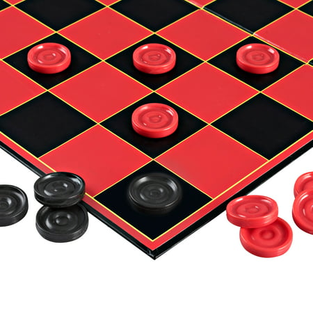 Point Games Classic Checkers Board Game, with Super Durable Board, Best Folding Board Game for the entire (Best Games In The App Store 2019)
