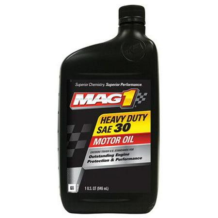 30w Engine Oil (Warren Distribution MAG61646 30W Engine Oil, Heavy Duty, 1-Qt)