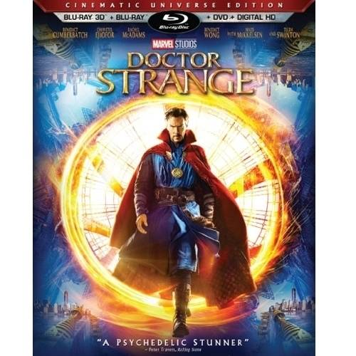 Marvel's Doctor Strange (Blu-ray 3D + Blu-ray + DVD + Digital HD) (Widescreen)