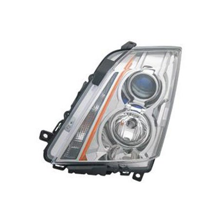 2008-2013 Cadillac CTS  Aftermarket Driver Side Front Head Lamp Assembly 22783445-V