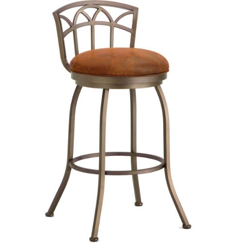 DFI Fiesole Low Back Swivel Counter Stool