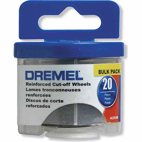 Dremel 426B 20-Piece Bulk Pack Reinforced Cut-Off Wheels