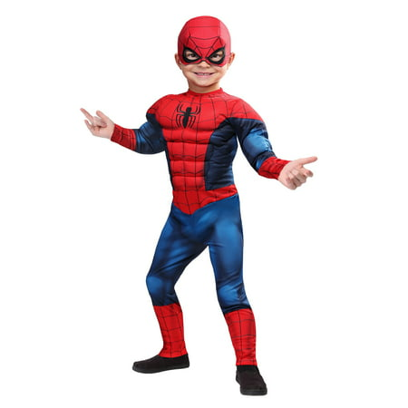 Spiderman Costume For Toddlers (Marvel Spider-Man Toddler)