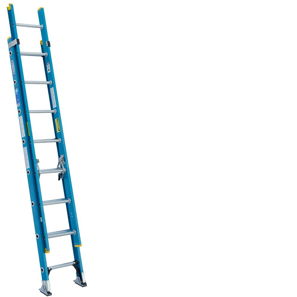 Werner D6016-2 16' Fiberglass Extension Ladder by Werner