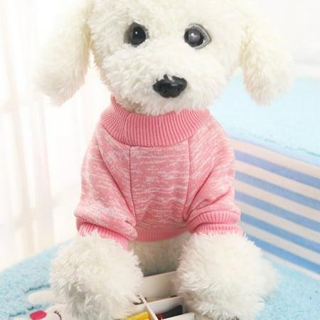 Small Pet Dog Cat Winter Sweater Clothes Puppy Jacket Coat ()