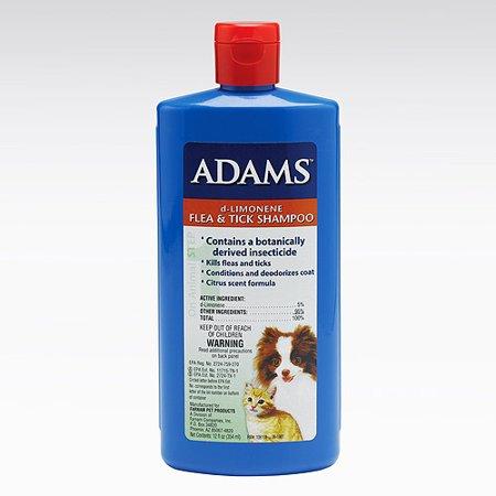 Adams D Limonene Flea Amp Tick Shampoo Walmart Com