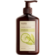 AHAVA Mineral Botanic Body Lotion, Lemon/Sage, 13.5 fl. oz.