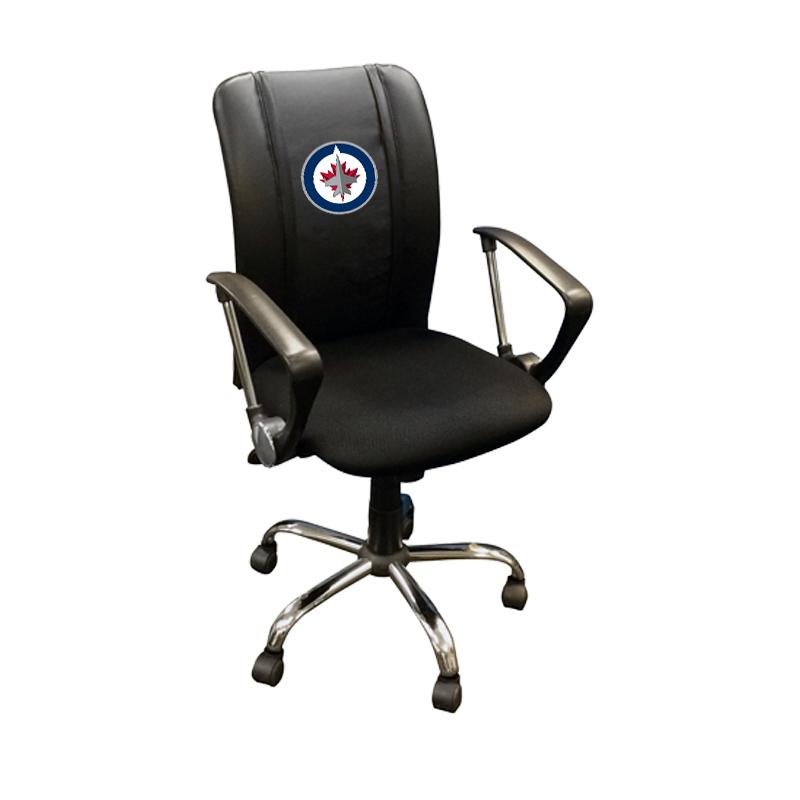 Winnipeg Jets NHL Curve Task Chair