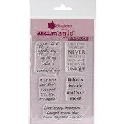 """Woodware Clear Stamps 5.5""""x3.5"""" Sheet-es"""