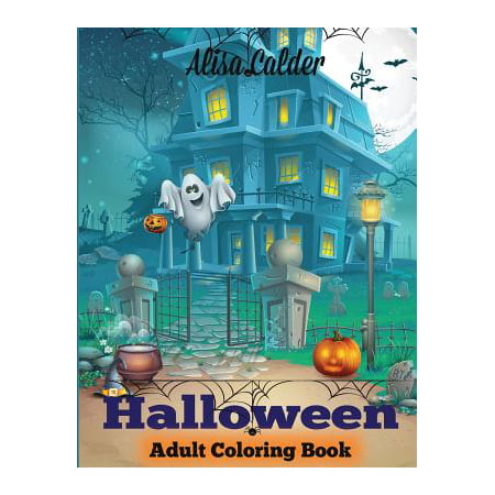 Halloween Coloring Book : Halloween Adult Coloring Book - Middle School Halloween Coloring Pages
