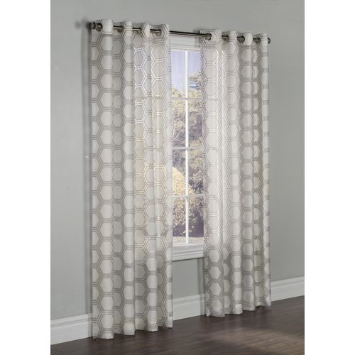 Commonwealth Home Fashions Madison Grommet Single Curtain Panel