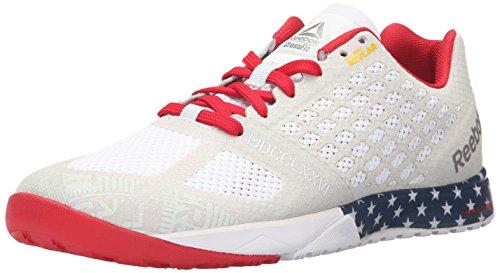 Reebok Men\u0027s R Crossfit Nano . Training Shoe, Americana Blue/Excellent Red /Collegiate