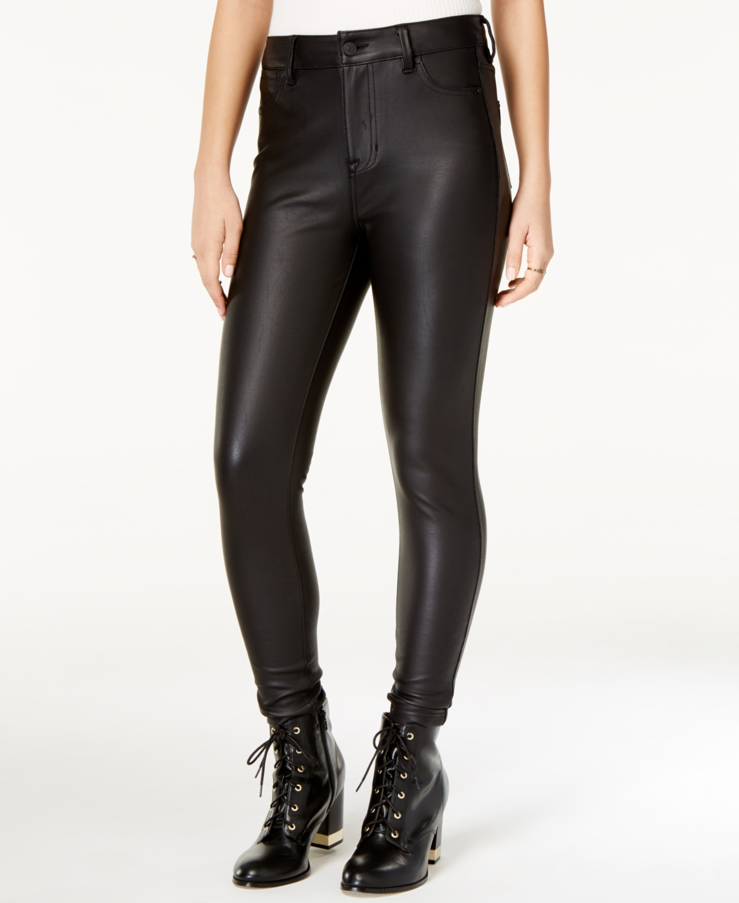Celebrity Pink  - Faux-Leather Pants - Juniors - 11