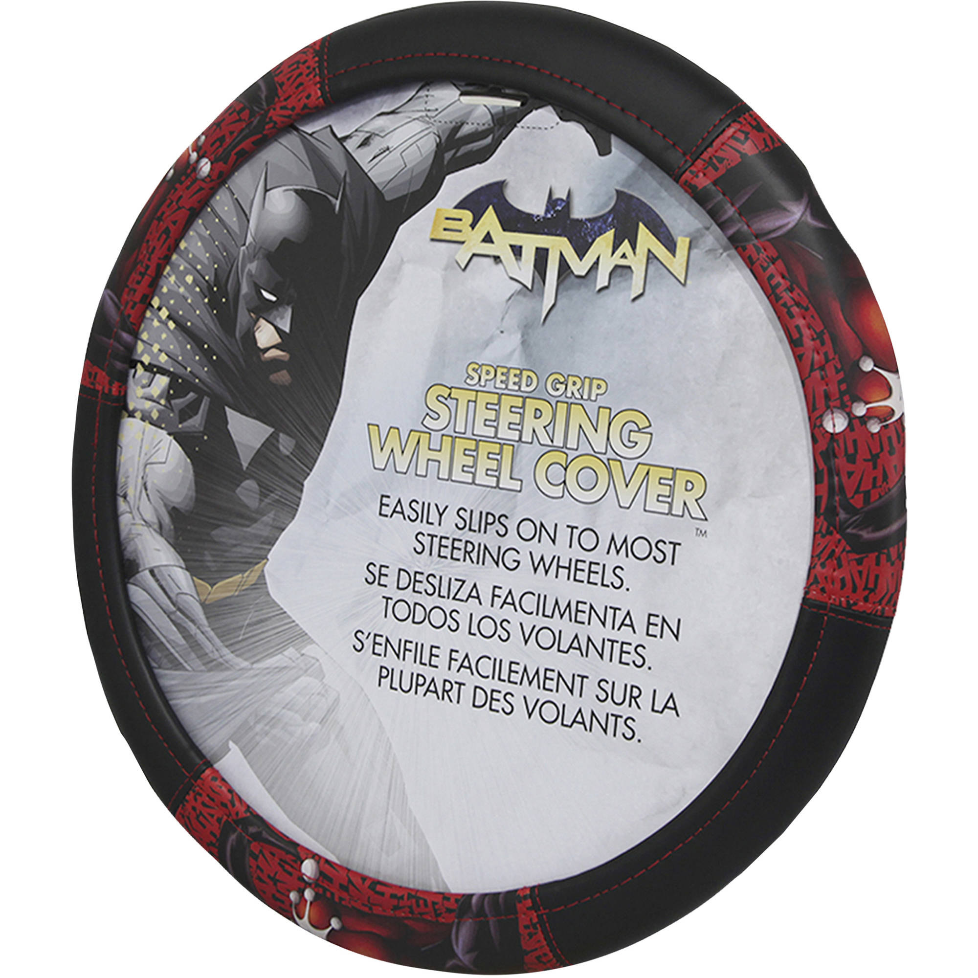 Warner Bros. Harley Quinn Ha Ha Speed Grip Steering Wheel Cover