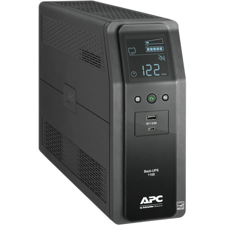 APC by Schneider Electric Back-UPS Pro Line-interactive UPS - 1100VA/600W - External