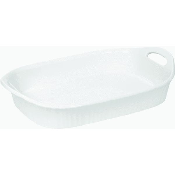 Corningware 3 Quart Oblong Casserole Dish by World Kitchen/Ekco