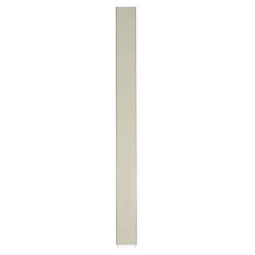 82 x 22 Pilaster Toilet Partition Almond Cellular Honeycomb