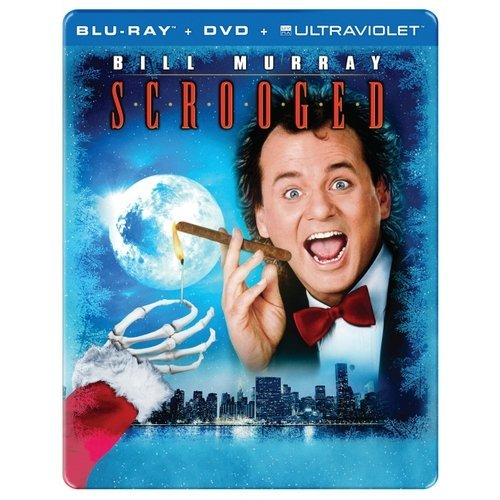 Scrooged (25th Anniversary) (Blu-ray + DVD + UltraViolet) (With INSTAWATCH) (Widescreen)