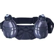 FuelBelt Helium H20 2-Bottle Hydration Belt: Black/Black One Size