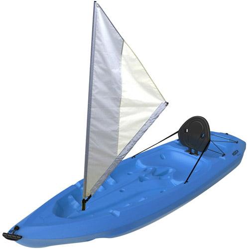 Lifetime Monterey Kayak with Sail, Blue