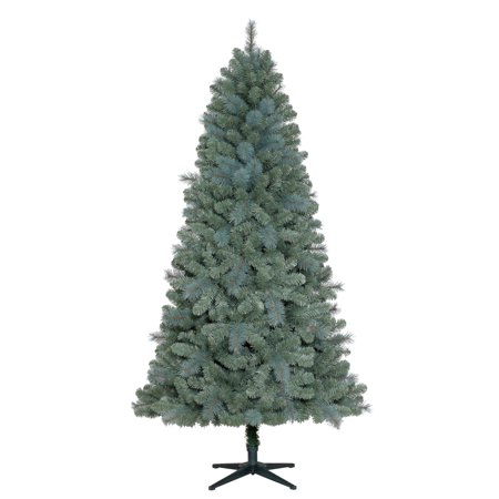 new products 89f85 23ad3 Holiday Time Unlit 7' Elwood Pine Artificial Christmas Tree