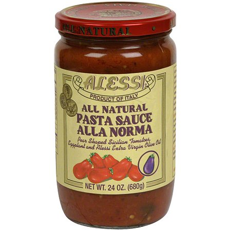 Image of Alessi Alla Norma Pasta Sauce, 24 oz (Pack of 6)