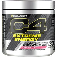 Cellucor C4 Extreme Energy Pre Workout Powder, Explosive High Energy Drink with Beta Alanine, Strawberry Kiwi, 30 Servings