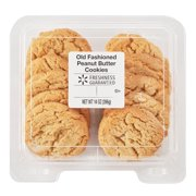 Freshness Guaranteed Old Fashioned Peanut Butter Cookies, 14 oz, 10 count