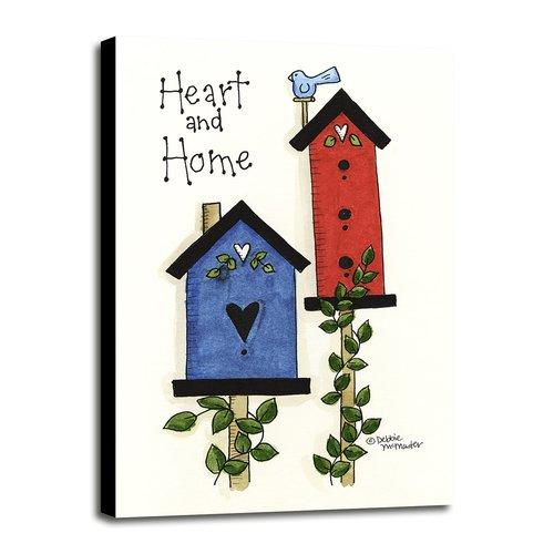 August Grove 'Heart & Home' Print