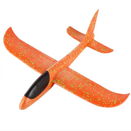 Mosunx Foam Throwing Glider Airplane Inertia Aircraft Toy Hand Launch Airplane Model