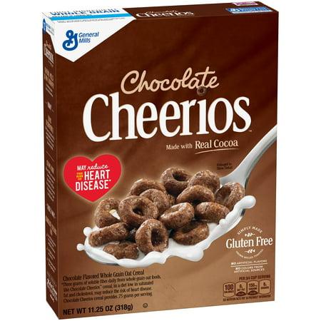 Chocolate Cheerios Cereal 11 25 Oz Box