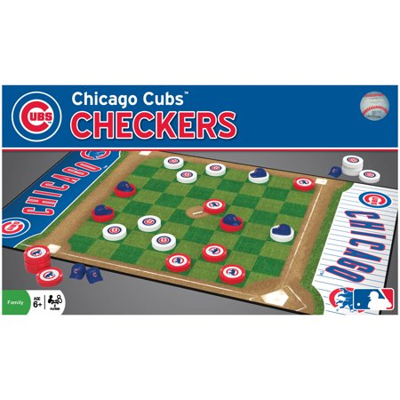 MasterPieces Chicago Cubs Checkers ()