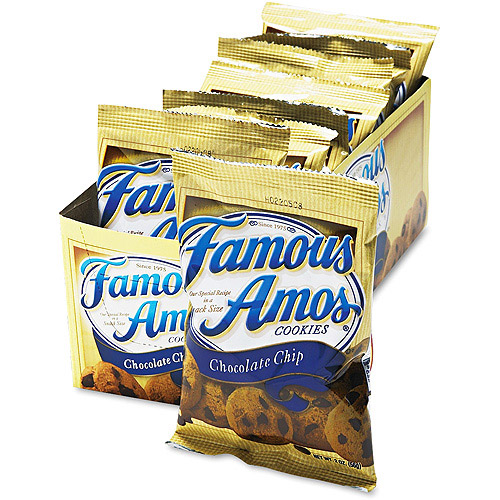 Famous Amos Chocolate Chip Cookies, 8 ct