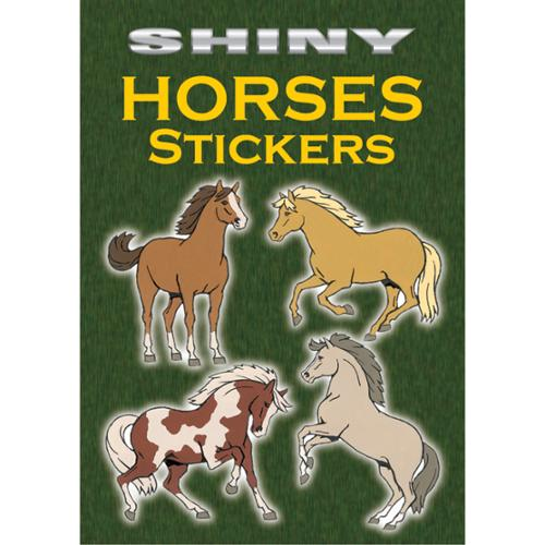 Dover Publications-Shiny Horses Stickers