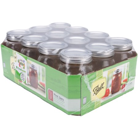 Barcelona Jar - Ball Regular Mouth Canning Jar 12/Pkg-Pint
