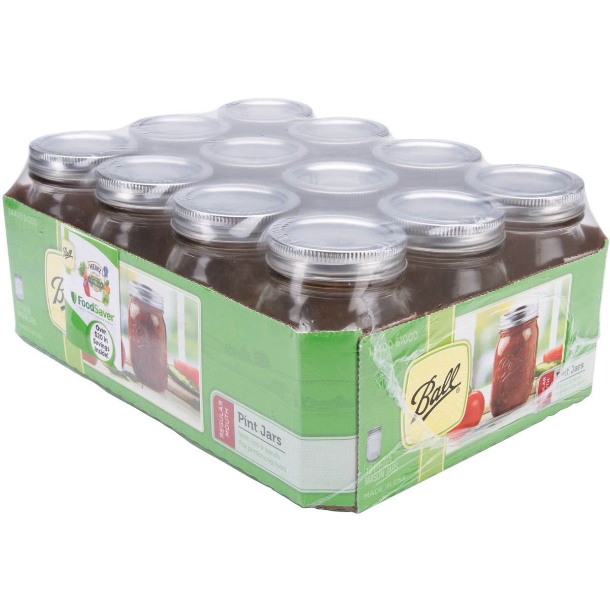 Ball Mason Jars 12 pk Only $6.