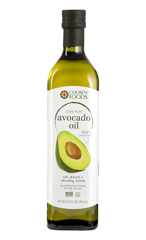 Chosen Foods Cold-Pressed Pure Avocado Oil, 25.4 Fl Oz
