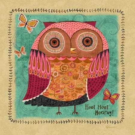 Richards Owl 1 Poster Print by Richard Faust](Thirty One Owl Print)