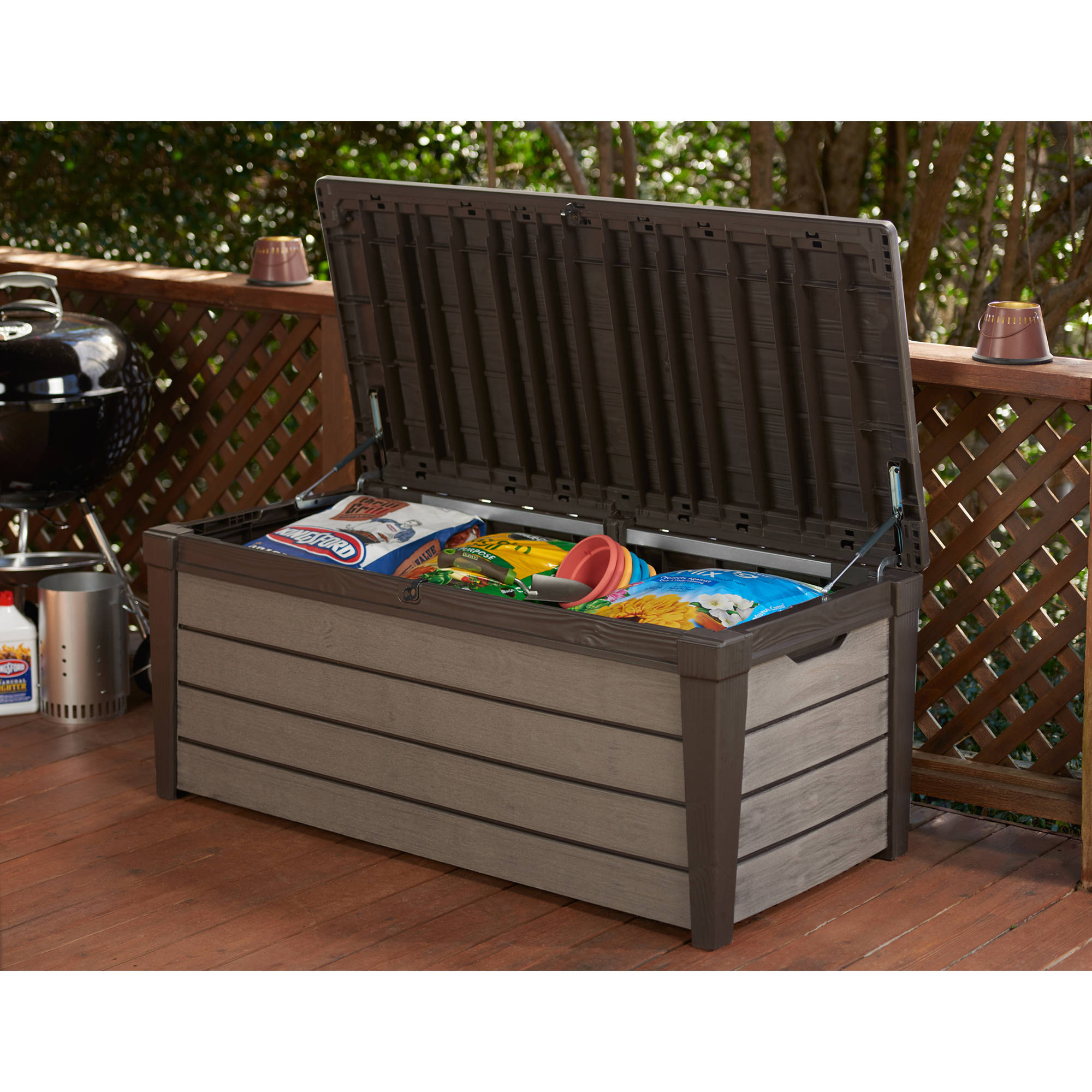 Patio Storage Bench Keter Patio Storage Bench Plastic Keter 150 Gallon Patio Storage