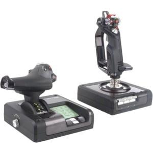 (Saitek Pro Flight X52 Flight System for PC - Cable - USB - PC)